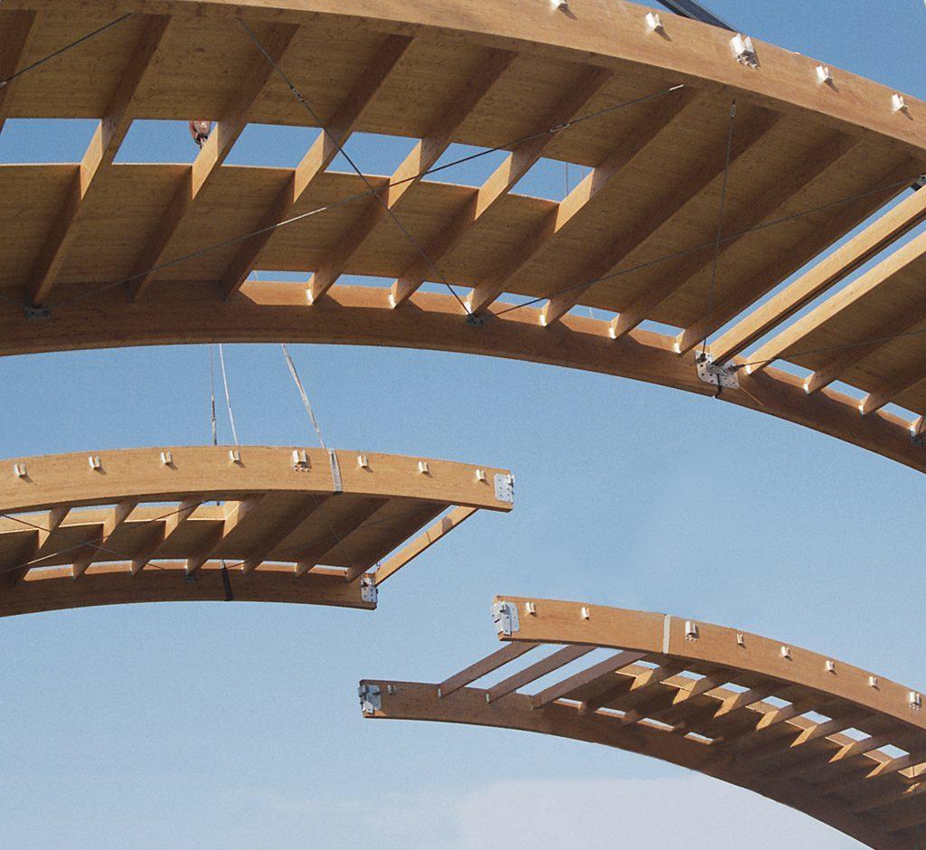 Palestre In Legno Prezzi strutture & grandi opere - teknica legno - realizzazioni in